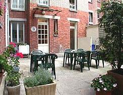 Jardin Hôtel Terminus Asnières
