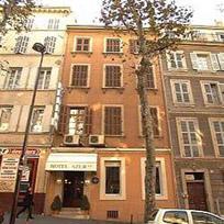 Façade Azur Hôtel Marseille 01