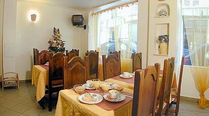 Salle petit déjeuner Hôtel du Lion d'Or