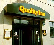 Entrée Hôtel Quality INN Nanterre