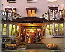 Entrée Villa Henri IV Saint Cloud