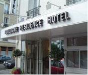 Entrée Boulogne Résidence Hôtel