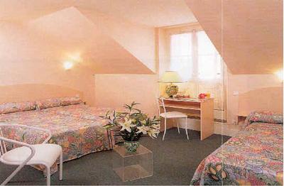 Chambre Hôtel CAZAUX Lourdes