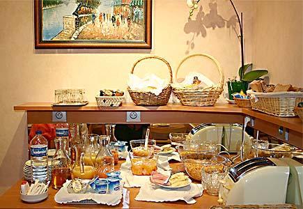 Petit déjeuner Hôtel Carofftel Gobelins