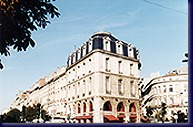 Façade Hôtel Clémenceau Bordeaux