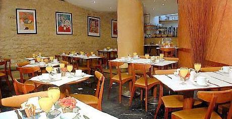 Salle petit déjeuner Hôtel albe Paris