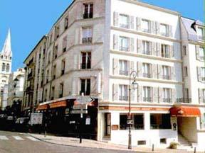 Extérieur Hôtel Crocus Saint Cloud