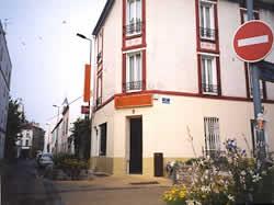 Façade Hôtel des Amis  Malakoff