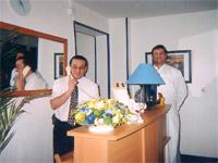 Réception Hôtel des Jardins Suresnes
