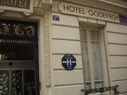 Entrée Hôtel Godefroy Puteaux