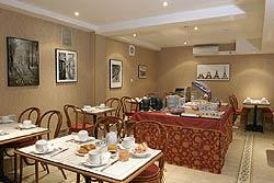 Salle petit déjeuner Hôtel Ambassade Paris