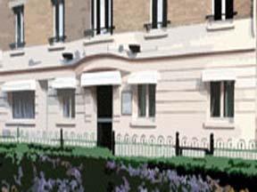 Façade Hôtel Kyriad Clichy
