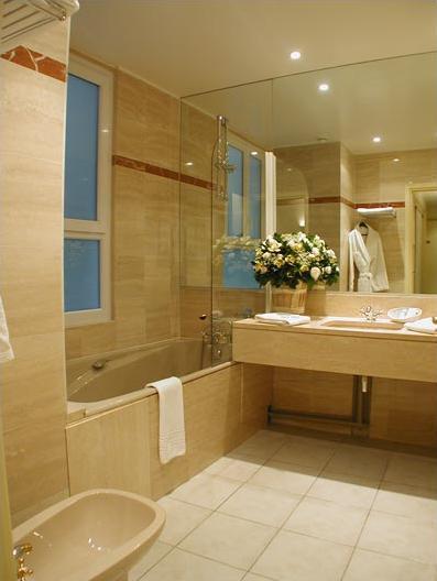 Salle de bain Hôtel Résidence Bassano Paris