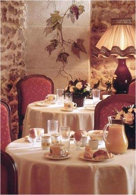 Salle petit déjeuner Hôtel Kléber Paris
