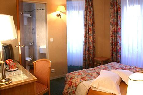 Chambre Hôtel Monceau Elysées Paris