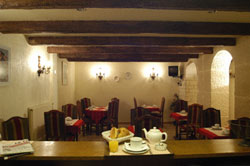 Salle petit déjeuner Hôtel Excelsior Paris