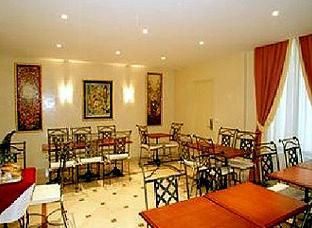 Salle petit déjeuner Hôtel Glasgow Paris