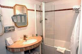 Salle de bain Hôtel les Rives de Notre Dame