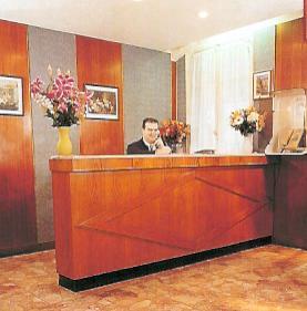 RéceptionHôtel Luxia Paris