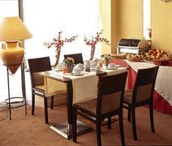 Salle petit déjeuner Hôtel des Nations Saint Germain