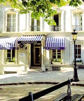 Hôtel Timhotel Montmartre Paris