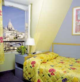 Chambre Hôtel Timhotel Montmartre Paris
