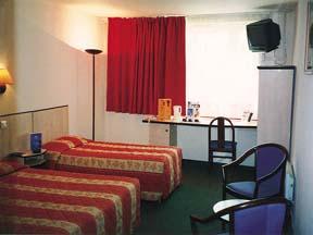 Chambre Hôtel Kyriad La Villette Paris