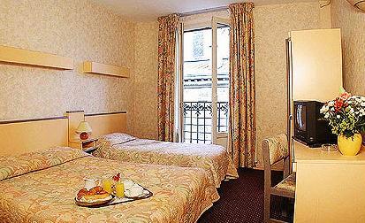 Chambre Hôtel la Perdrix Rouge Paris
