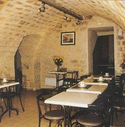 Salle petit déjeuner Hôtel Cujas Panthéon