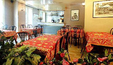 Salle petit déjeuner Hôtel des Mines Paris