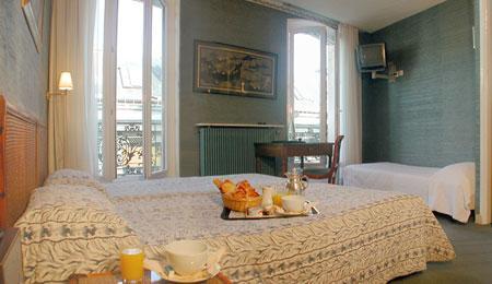 Chambre Hôtel Delavigne Paris