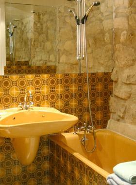 Salle de bain Hôtel du Globe Paris