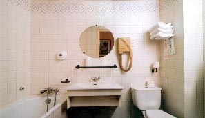 Salle de bain Hôtel Eugénie Paris