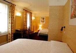 Chambre Hôtel La Louisiane Paris