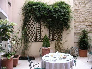 Petit déjeuner Hôtel Le Clos Médicis Paris