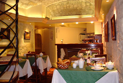 Salle petit déjeuner Hôtel Le Régent Paris