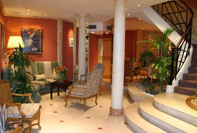Hall d'accueil Hôtel Le Régent Paris