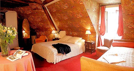 Chambre Hôtel Louis II St Germain Paris