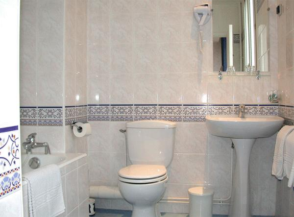 Salle de bain Hôtel Paris Gambetta