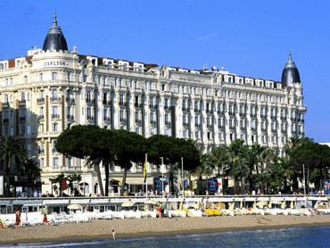 Façade Hôtel Carlton Inter Continental Cannes