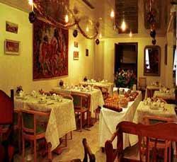 Salle petit déjeuner Hôtel Royal Saint Germain