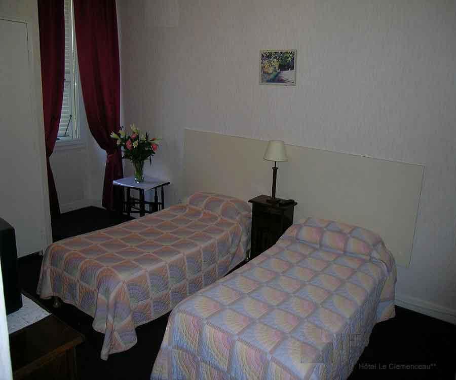 Chambre Hôtel Clémenceau Nice