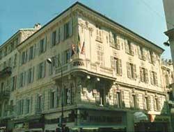 Façade Hôtel de Kent Nice