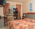 Chambre Hôtel de la mer Golf Juan