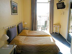 Chambre Hôtel des Orangers Cannes