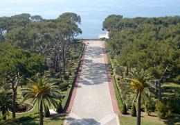 Vue Hôtel du Cap Eden-Roc Antibes Juan les Pins