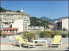 Terrasse Hôtel Edward's Menton