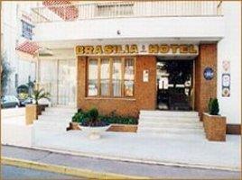 Façade Brasilia Hôtel Cagnes sur Mer