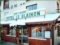 Façade Hôtel le Blainon Auron
