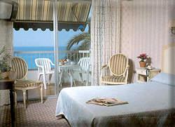 Chambre Hôtel Le Dauphin Menton